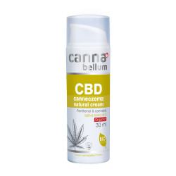 CBD canneczema natural cream 30 ml